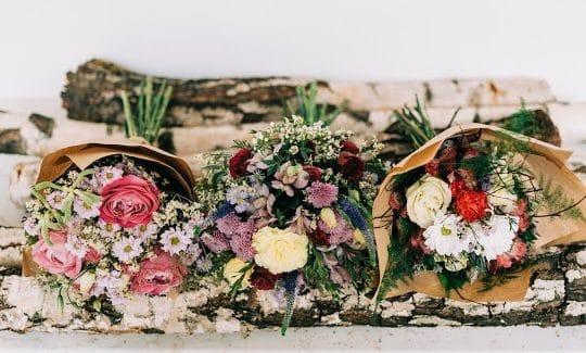 Navázané květiny Květinářství GALERIE Brno