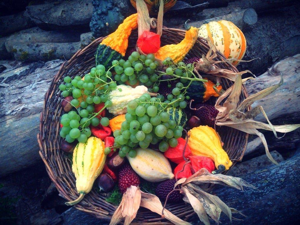 Podzimní dekorativní mísa