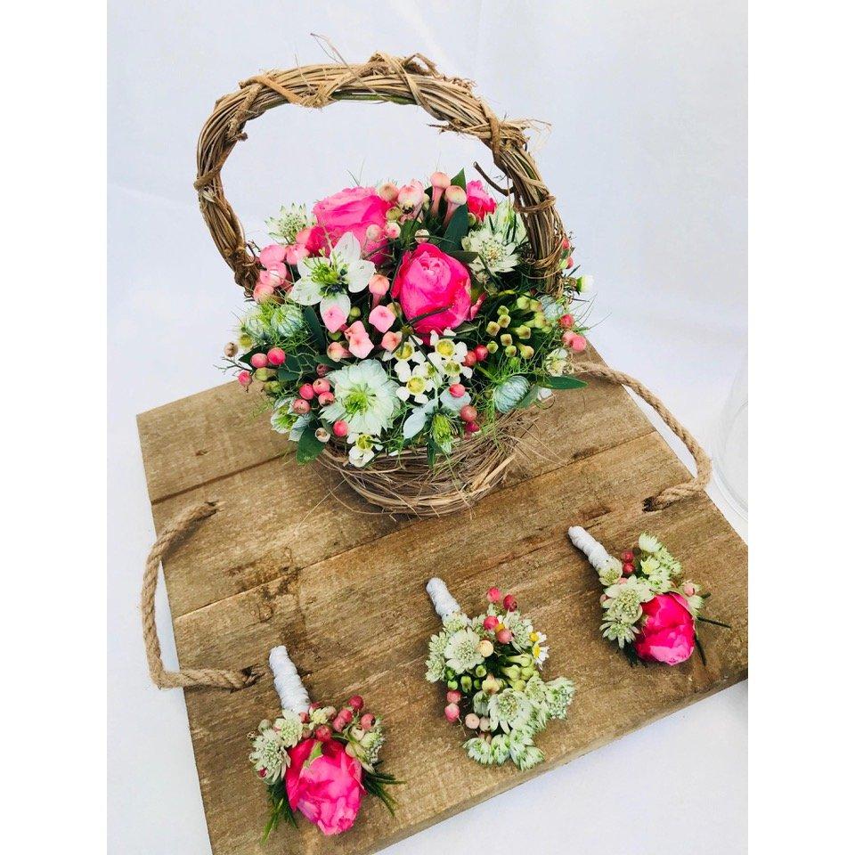 Svatební kytice a dekorace