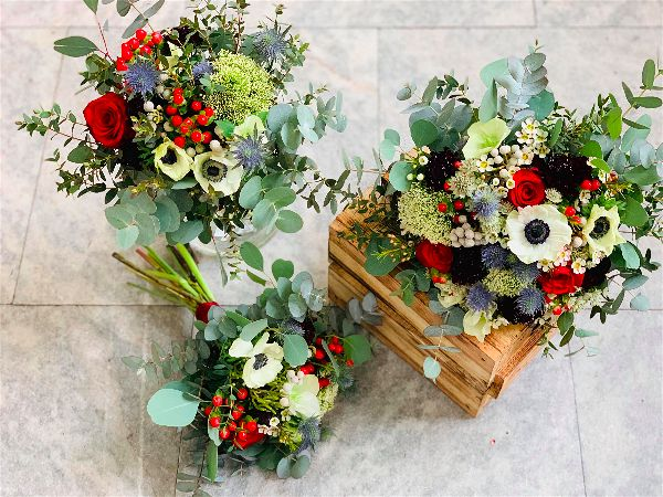 Svatební kytice / floristika - duben 2019