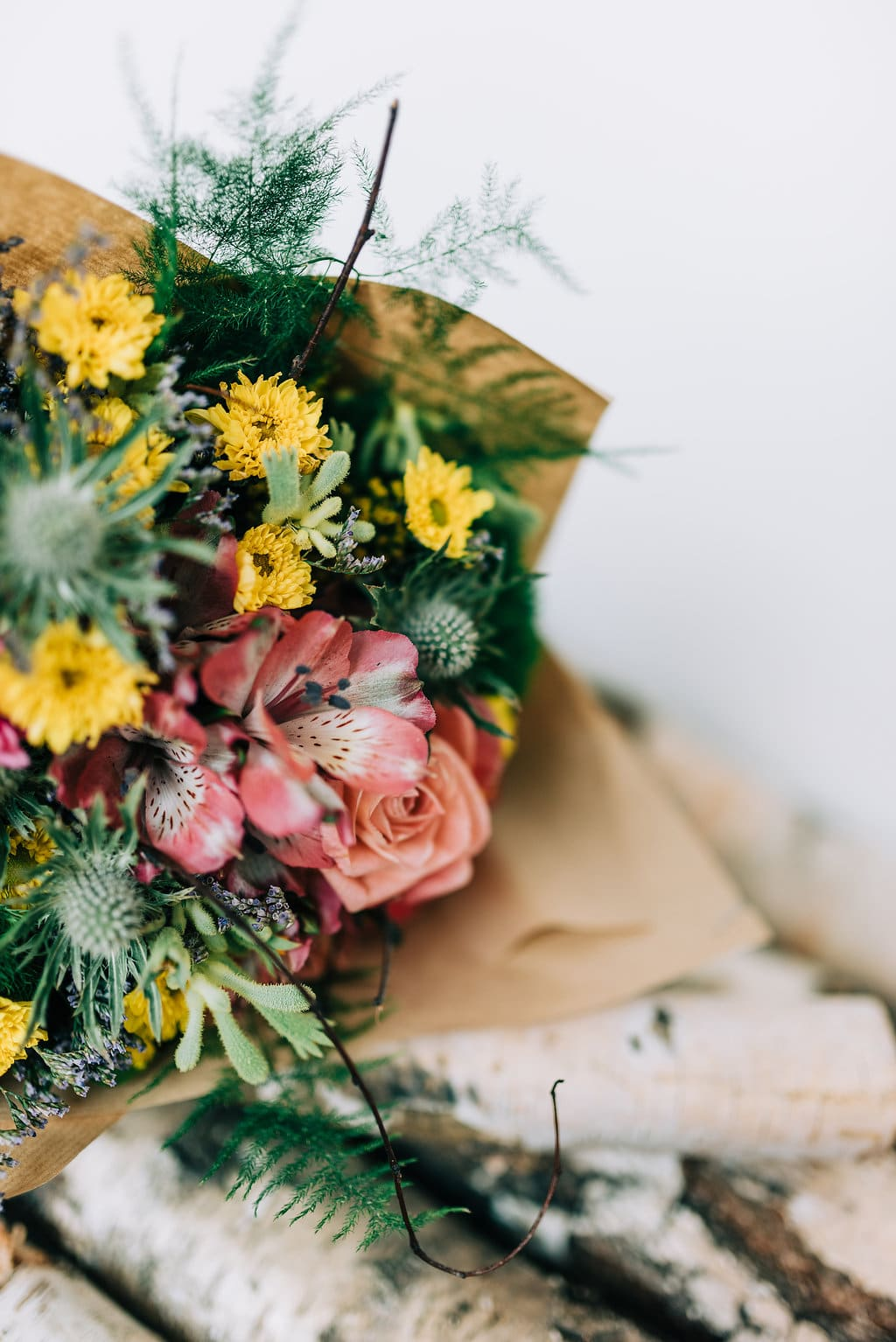 Uvázaná kytice