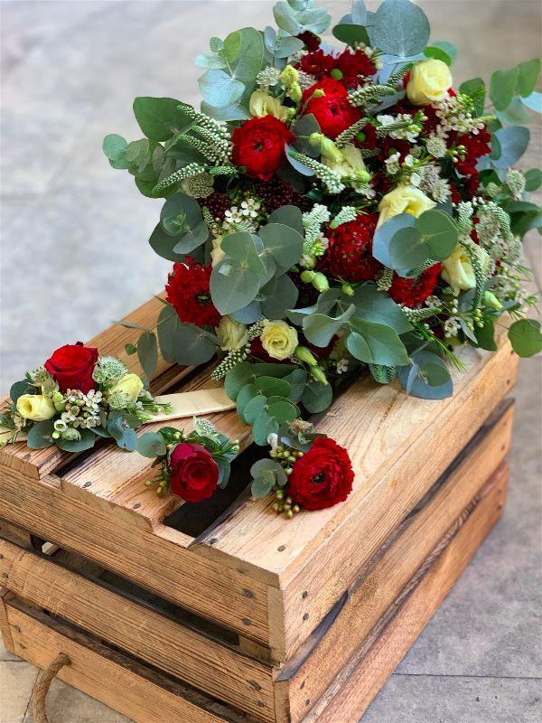Svatební floristika - Květinářství GALERIE Brno