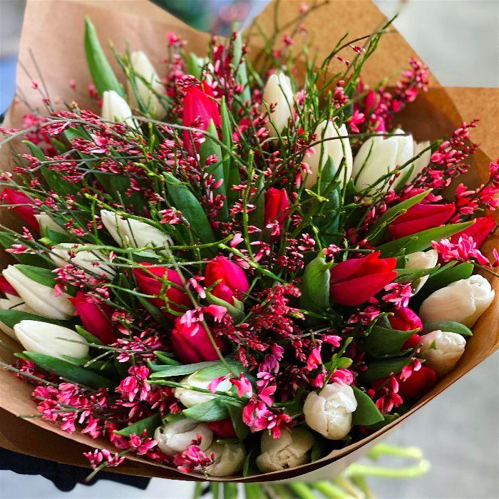 Rozvoz květin tulipány Brno