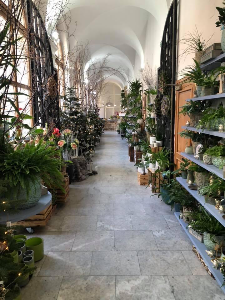 Vánoce v Květinářství GALERIE - interier