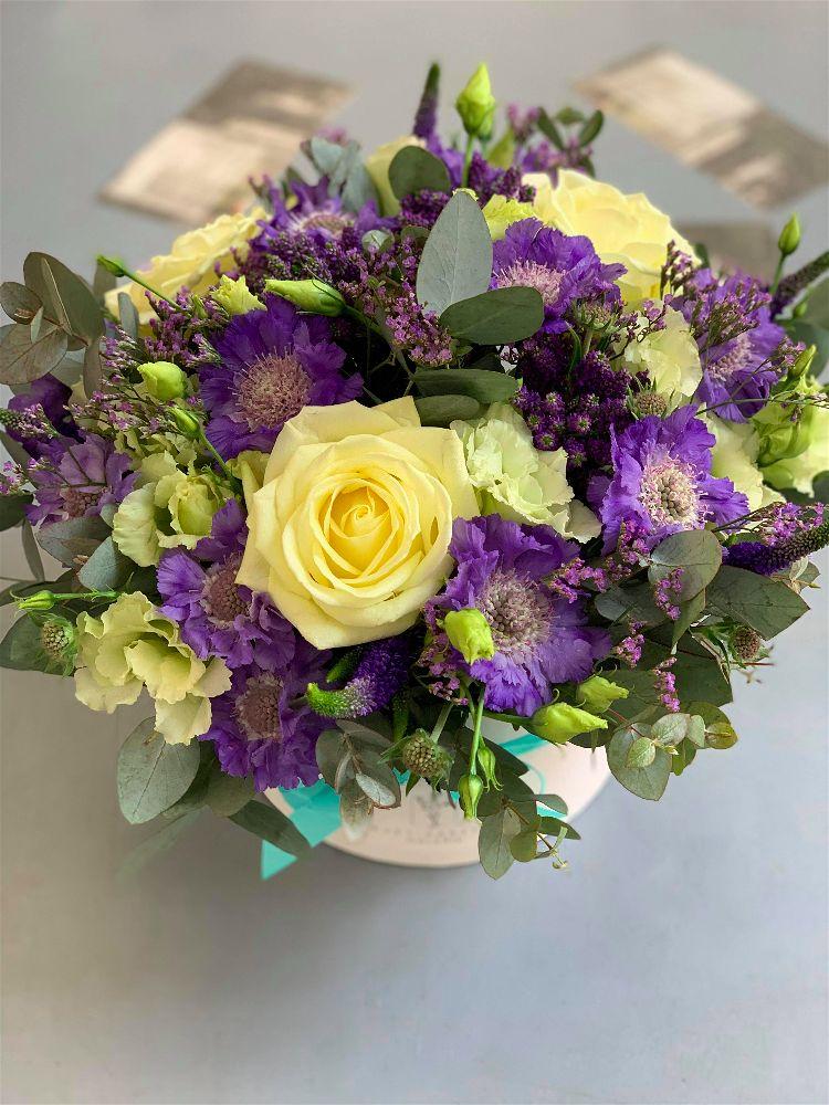 Květinový box na míru dle přání zákaznice