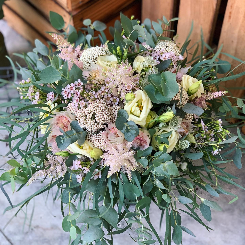 Svatební kytice z Květinářství GALERIE Brno