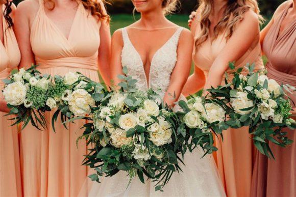 Svatební kytice a kytice pro družičky